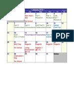 january-2019-calendar constructions