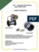 PEM-1000 Manual En