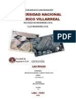 Rocas y clasificacion