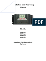 Solar Charge Controller PRSeries Manual