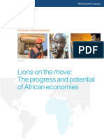 Lions on the Move - The Progress and Potential of African Economies