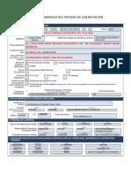 Datos Del Procesos de Contratación