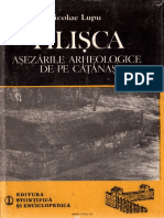 Lupu Nicolae TILISCA Asezarile Arheologice de Pe Catanas 1989