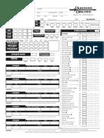 Hoja de Personaje Editable D&D 3.5