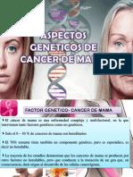 Aspectos Geneticos de Cancer de Mama