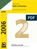 2007 Ks2 English Mark Schemes
