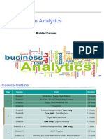 SCM Analytics Session 5 6 7 8