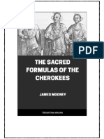 Sacred Formulas of the Cherokees
