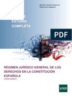 GuiaCompletaRégimen Jurídico General de Los Derechos en La Constitución Española_2019