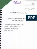Aero Belt Conveyor Manual