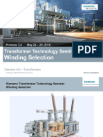 SIEMENS Transformer Winding Selection