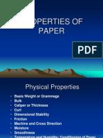 Paper Properties