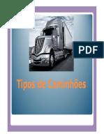 Tipos de Caminhões e Carretas