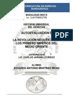 Autoevaluación II - Historia Universal Del Derecho