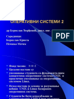 1962 73 276 73 Operativni Sistemi2-PrezPredmeta