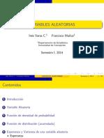 Clase 4 - Estadistica Variables Aleatorias