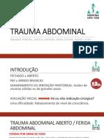 Trauma Abdominal Slides