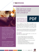 Plan Voor Disaster Recovery