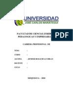Monografia - Evaluacion de Impactos de Proyectos - Jenifer