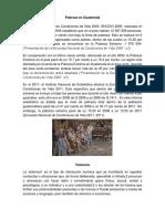 Informe Estadistico Violencia Guatemala