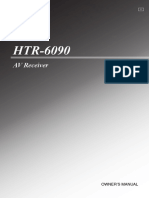 HTR 6090 Manual