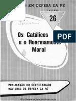 26 - Os Católicos e o Rearmamento Moral - Pe Dr L Rumble