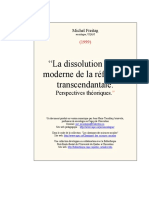 Dissolution Post Moderne