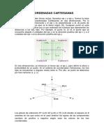 Coordenadas Cartesianas Polares Cilindricas