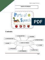 Topic 1 Parts of Speech