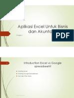 CH01-Aplikasi Excel Untuk Bisnis Dan Akuntansi