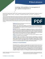 Guia Hematología 2018 Anticoagulación