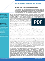 Integrated Petrophysics, Detectives, And Big Data