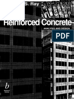 s.s. Ray-reinforced Concrete Analysis and Design