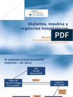 Diabetes Urgencias
