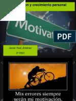 Motivacion y Crecimiento Personal JAVIER RUIZ