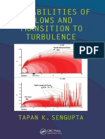 Tapan K. Sengupta - Instabilities of Flows and Transition to Turbulence (2012, CRC Press)