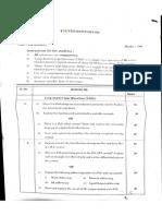 B tech paper
