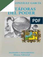 Metáforas del poder - J. M. González García