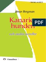 Hjalmar Bergman - Kackta utgåva =, Senaste tryckta utgåva =, 135 s. ]