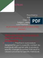 Core Practices