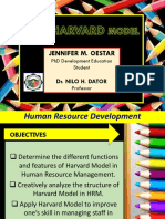 Harvard Model on Human Resource Development