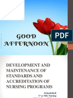DEVELOPMENT AND MAINTENANCE OF STANDARDS AND ACCREDITATION OF.pptx