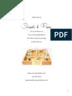 Catering Book Website