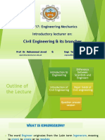 Introductory Lecture (Engineering Mechanics)