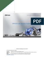 ZWSoft ZW3D 2018 Training Material