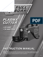 Plasma Cutter instruction manual