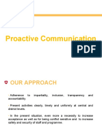 0. 9 Proactive Communication 014
