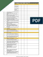 Checklist Construction Site
