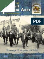 Sant Antoni Abat, Revista 2019.