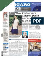 Le Figaro Du Mercredi 7 Novembre 2018